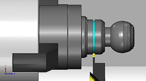 Module tiện trên Solidcam
