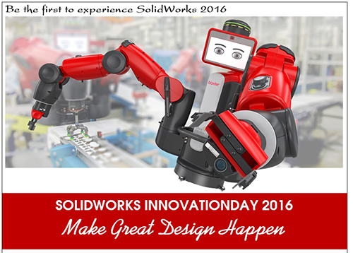 Hội thảo ra mắt sản phẩm mới_SOLIDWORKS INNOVATION DAY 2016_(10/10/2015)
